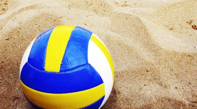 Open beachvolleybal toernooi